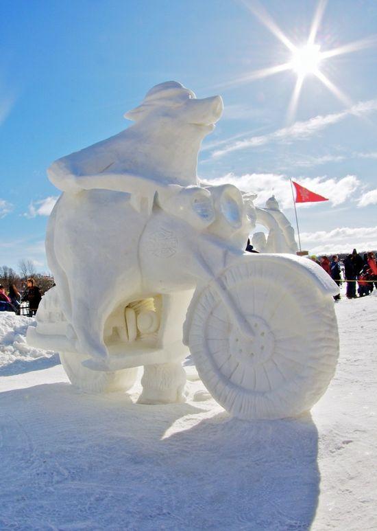 sculptura-gheata-motor
