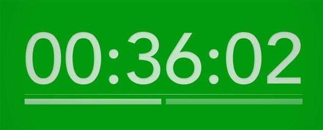 colour-clock-green