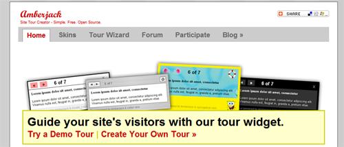 amberjack-creare-tur-website-simplu