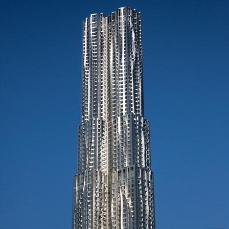 dezeen-new york by frank gehry arhitectura moderna-1