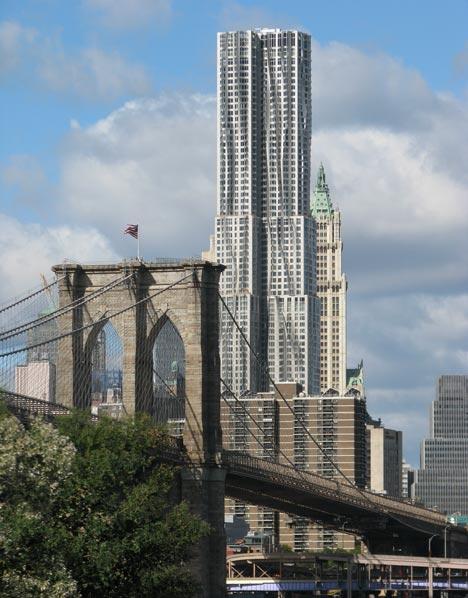 dezeen-new york by frank gehry arhitectura moderna-2