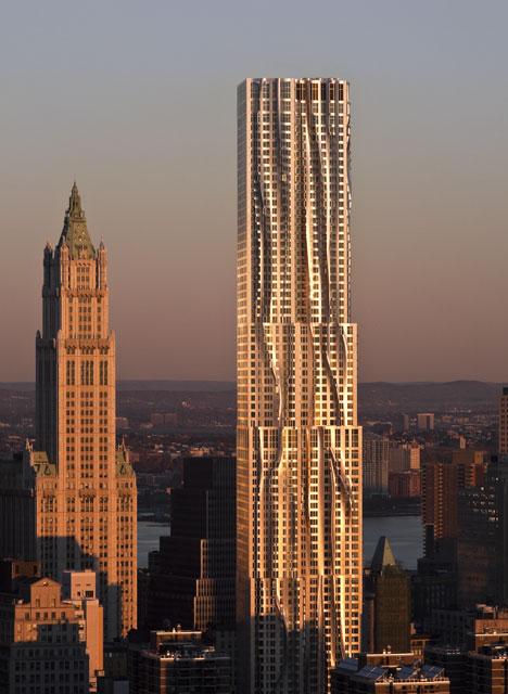 dezeen-new york by frank gehry arhitectura moderna-5