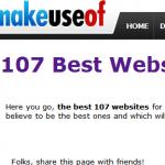 makeuseof cele mai faine siteuri lista