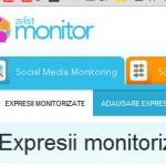 zelist monitor online bloguri twitter facebook