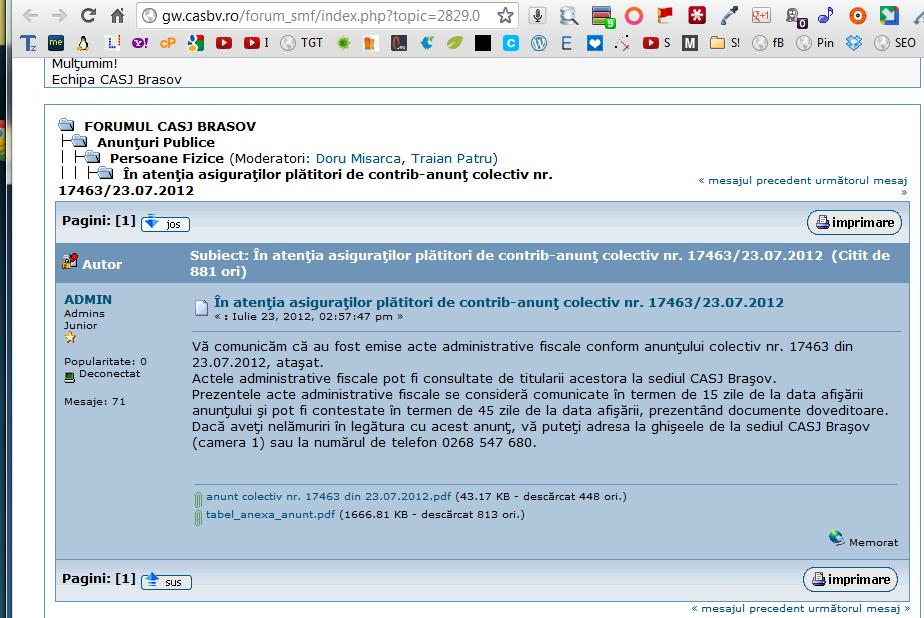 CAS-brasov-incalca-legea-publica-date-personale-internet-2012-23-iulie