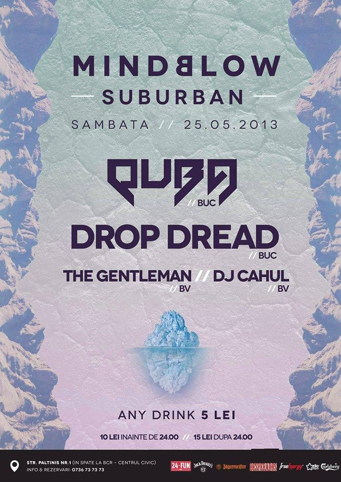 dubstep party 25 mai 2013 - mindblown - club suburban