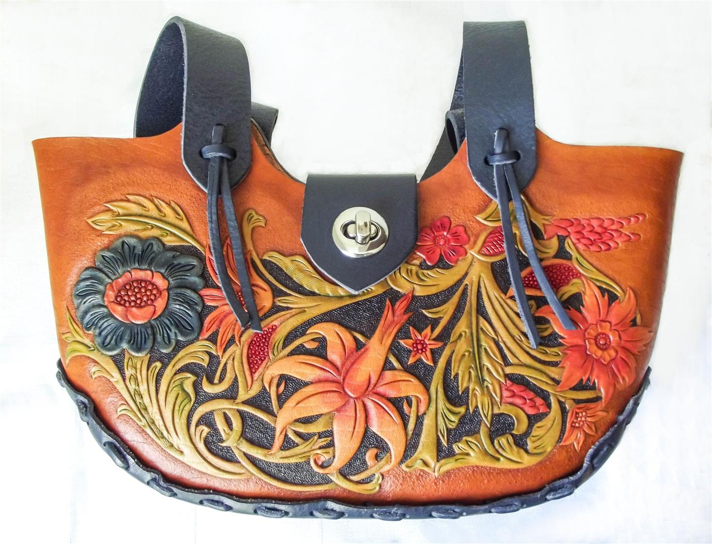 geanta dama reeija handmade piele