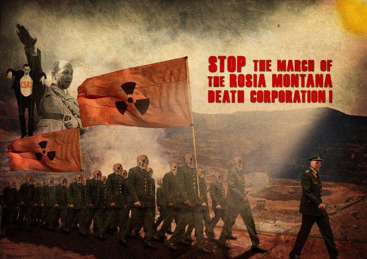 rosia-montana-death-march