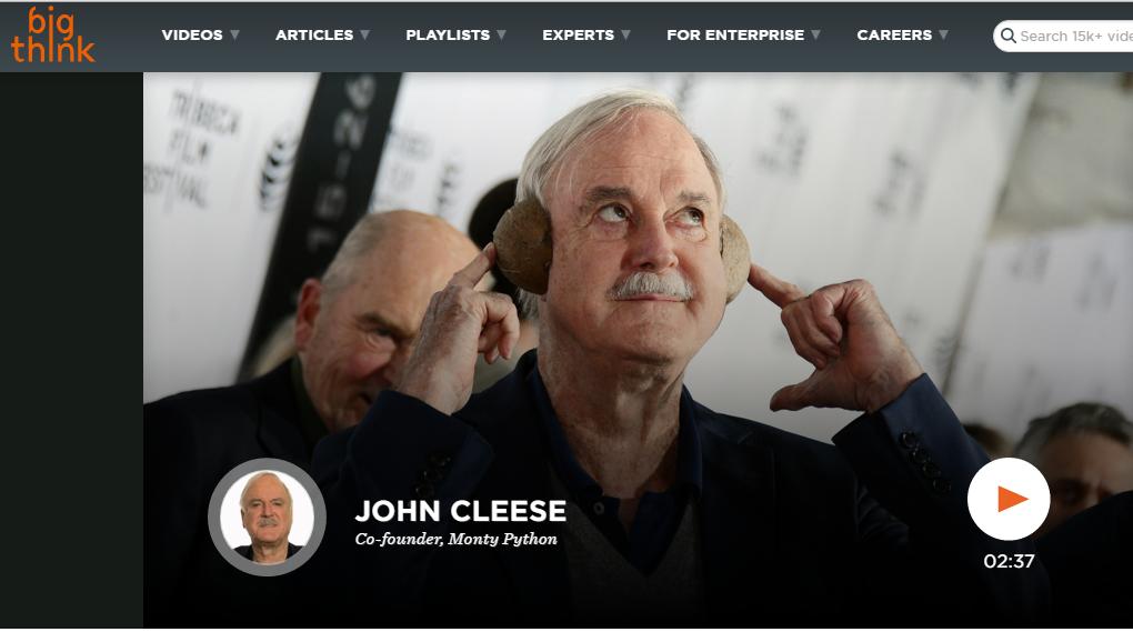 big-think-john-cleese-political-corectness-comedy